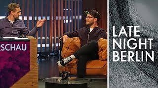 Mark Forster hört Probe: Hackbraten-Witze im Test  | Gag-Vorschau | Late Night Berlin | ProSieben