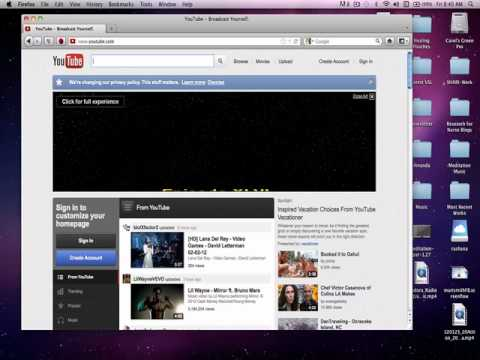 How to Upload a Photobooth Video onto YouTube *Macs Only
