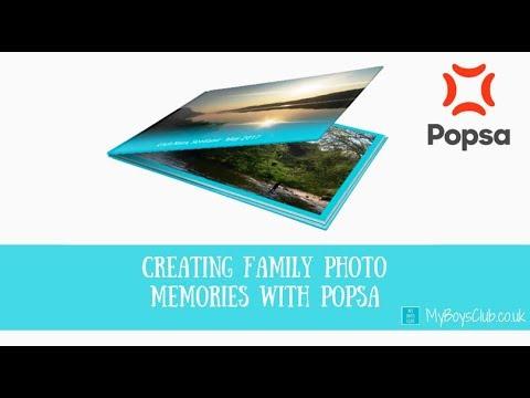 My Boys Club Make a Popsa Photo Album in less than 2 mins