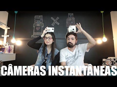 Câmeras Instantâneas: Polaroid z2300 digital vs Fuji Instax Mini analógica