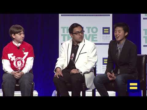 Panel Discussion with Non-Binary Youth and Jacob Tobia at Time to Thrive LGBTQ Youth Conference