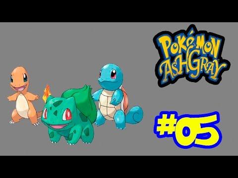 MangáTube - Pokémon AshGray #05 - Bulbasaur, Charmander e Squirtle