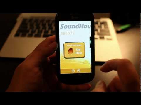 SoundHound for Windows Phone App Demo, Music Discovery
