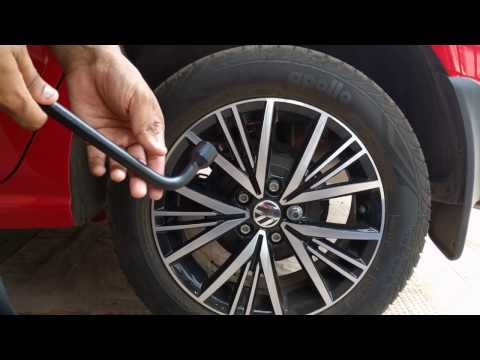 How to change a Flat Tyre in Volkswagen Polo - What's Different?