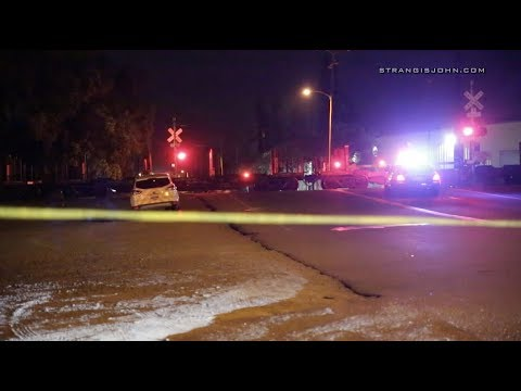 Riverside: Pedestrian Killed in Collision with Train