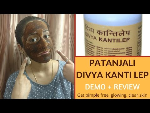 Patanjali Divya Kanti Lep Review and Demo   Face Pack for Acne & Pimples   Just another girl