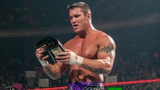 Randy Orton wins his first title in WWE at Armageddon 2003: Best of Randy Orton sneak peek