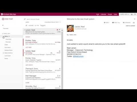Outlook Web App 2013
