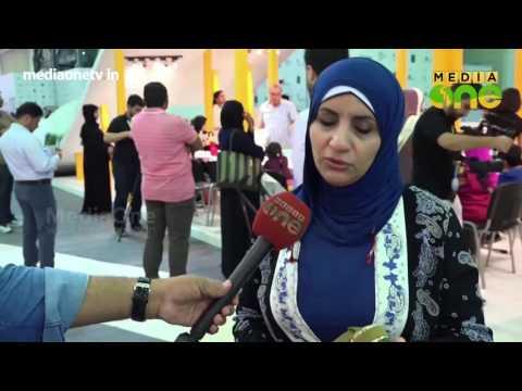 Doll making in the Sharjah Children's Reading Festival