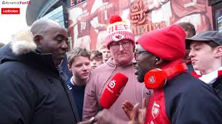 Arsenal 3-0 Stoke City | Ty Bottles It When Face To Face With Stoke Fans😂