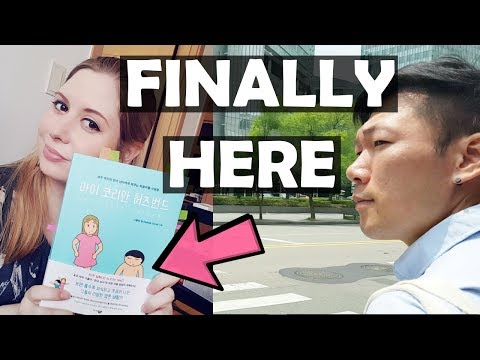 FIRST TIME SEEING THE  MY KOREAN HUSBAND BOOK! / A day in the life VLOG