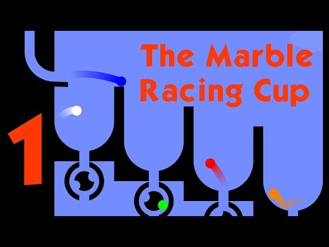 The Marble Racing Cup! Part 1 (Algodoo)