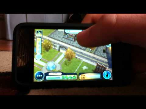 Sims 3 Ambitions iPod Touch/iPhone Gameplay Part 1