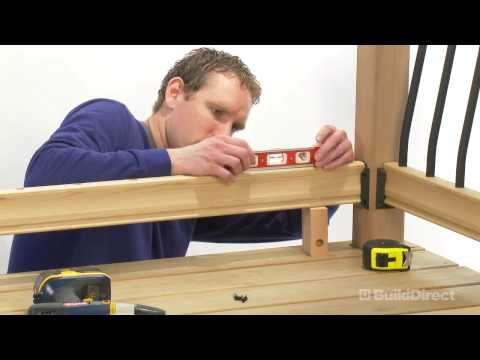 How to Install an Outdoor Deck Railing Kit | BuildDirect