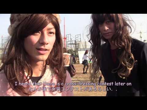 [字幕付き] Japanese University Festival!! (cross-dressing contest!!)