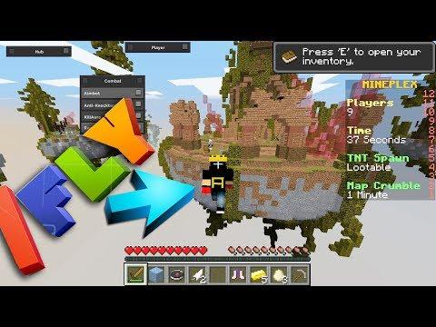 USEI HACK NO MINEPLEX E VOEI!! FUI BANIDO?! Minecraft
