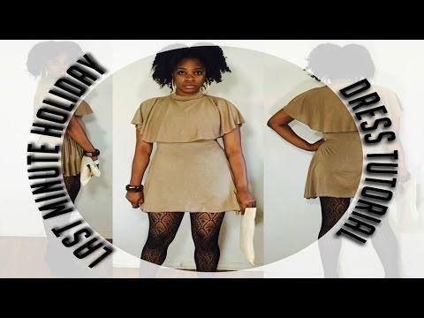 DIY/Tutorial : Easy Last Minute Holiday Dress #2