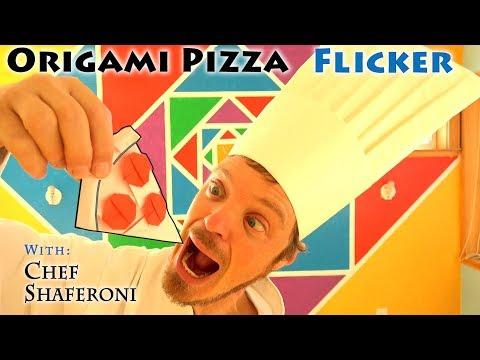 Origami Pizza Flicker
