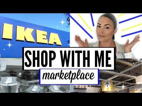 💙EP. 1 IKEA HAUL SHOP WITH ME 2018 ● IKEA HAUL ●  IKEA MARKETPLACE TOUR ● IKEA SHOPPING VLOG