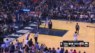 Quarter 2 One Box Video :Grizzlies Vs. Spurs, 4/27/2017 12:00:00 AM