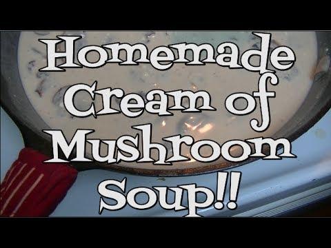 Homemade Cream of Mushroom Soup Recipe ~ Noreen's Kitchen Basics