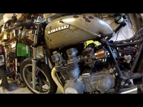 Cafe Racer - Rat Bike Build Part 1 - 1984 Kawasaki ZN700