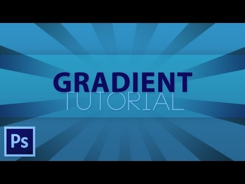 How To Make A Gradient in Photoshop CS5/CS6