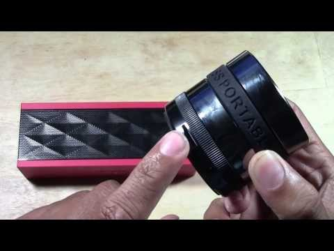 Amazingly Loud Bluetooth Speaker for $20 (Great Christmas Gift) Louder than Jambox | H2TechVideos