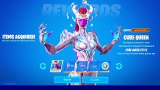 How to Unlock Cube Queen Skin in Fortnite (All Cube Queen Challenges Reward)