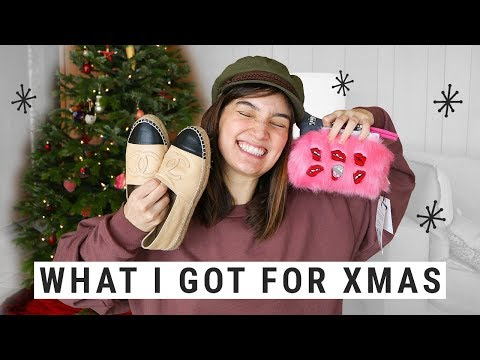 WHAT I GOT + GAVE FOR CHRISTMAS!