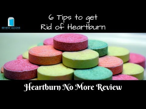 6 Tips to Get Rid of Heartburn - How to stop heartburn - 6 Easy Tips to Get Rid of Heartburn