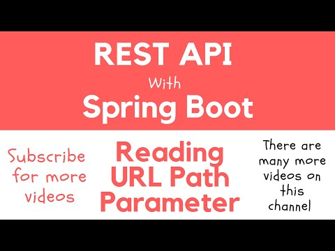 REST API with Spring Boot - Reading URL Path Parameter