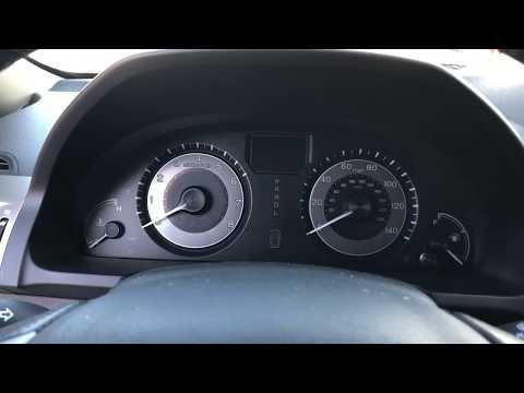 2016 Honda Odyssey Oil Life Reset