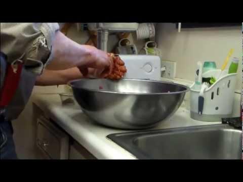Making Chorizo Sausage