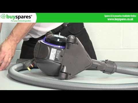 How to Clean or Replace the Filters in a Dyson DC 38 Vacuum Cleaner