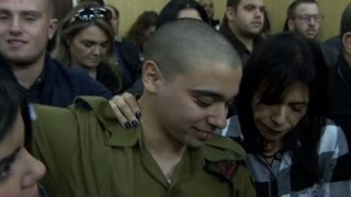 Raw: Israeli Soldier Convicted of Manslaughter
