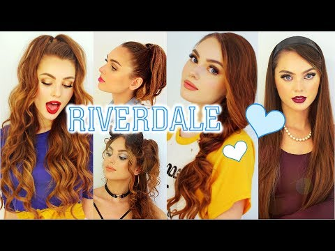 the cw RIVERDALE Hairstyles | Cheryl Blossom, Betty Cooper, Veronica Lodge & Josie