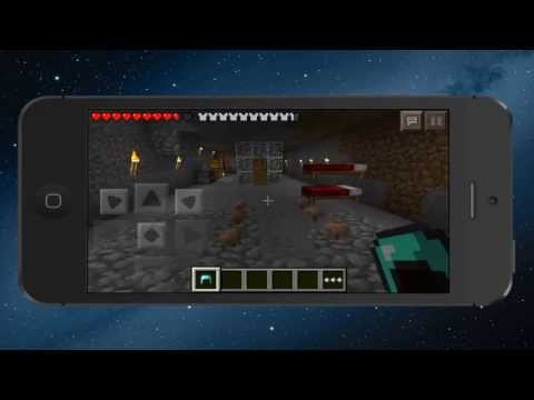Minecraft -- Pocket Edition Realms - Online Multiplayer On iPhone!