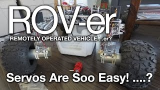 D53: Rover Robot: Lesson 1b: Turning Using Servo Motors And The Arduino Uno