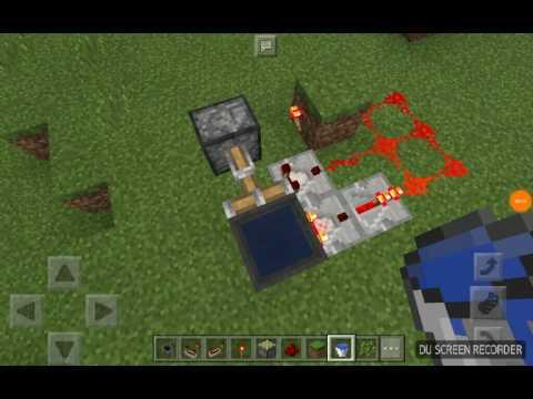 Secret Redstone Cauldron Entrance in MCPE 1.1.3.1!!!!!!!