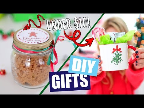 DIY Christmas Gifts Under $10!