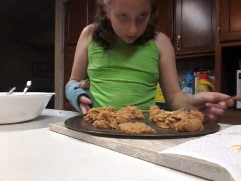 How to make peanut butter cookies with out flour  secret recipe