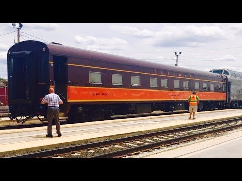 Iowa Pacific Private Cars on Amtrak Southwest Chief 5/23 & 5/25/17