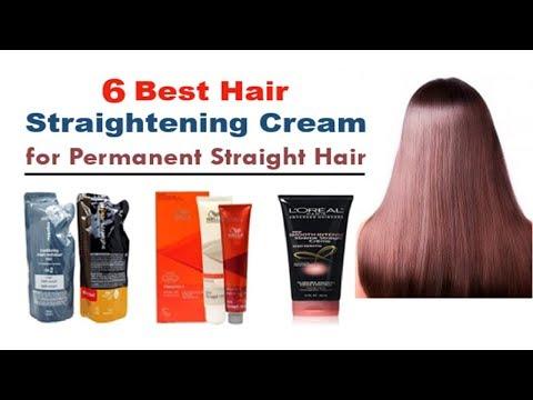 6 BEST HAIR STRAIGHTENING CREAM FOR PERMANENT STRAIGHT HAIR