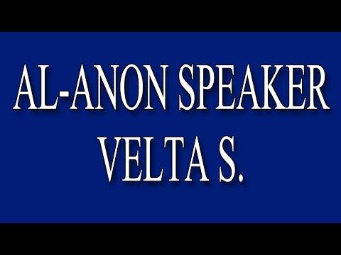 Al-Anon Speaker Velta S.