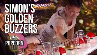 SIMON COWELL'S Golden Buzzer Auditions On Britain's Got Talent
