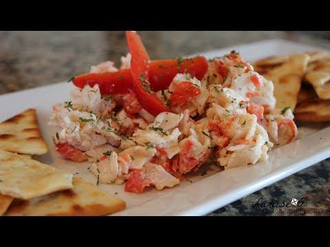 Imitation Crab Salad Recipe   Easy Crab Salad   Episode 107