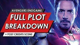 Avengers: Endgame: Full Leaked Plot Breakdown + Post Credit Scene Explained | HEAVY SPOILERS