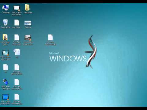 How to take screen shoot using Keyboard in windows 7 8 9 10