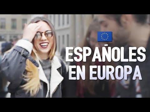 ESPAÑOLES en Europa